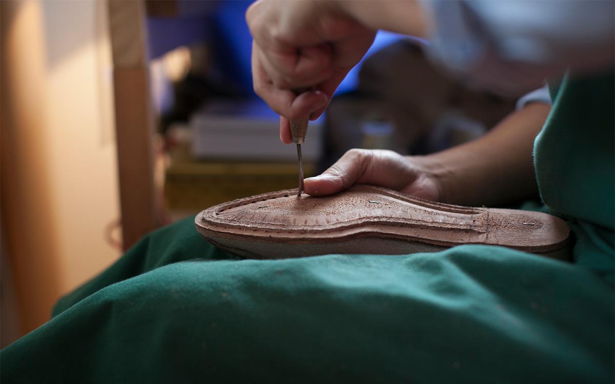 ビスポークシューズ オーダーメイド靴 制作手順製作