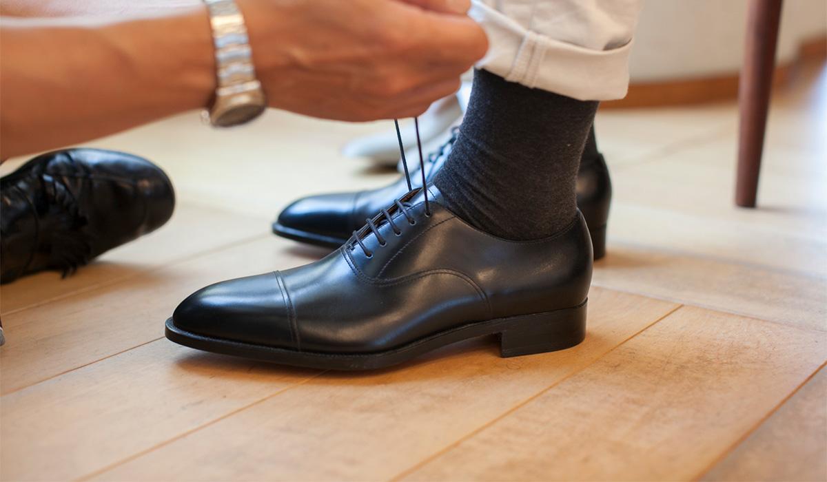 ビスポーク オーダーメイド紳士靴