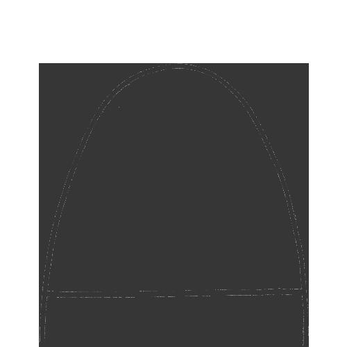 オーダーメイド靴のつま先のデザインストレートチップ