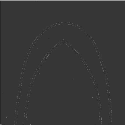 オーダーメイド靴のつま先のデザインVチップ