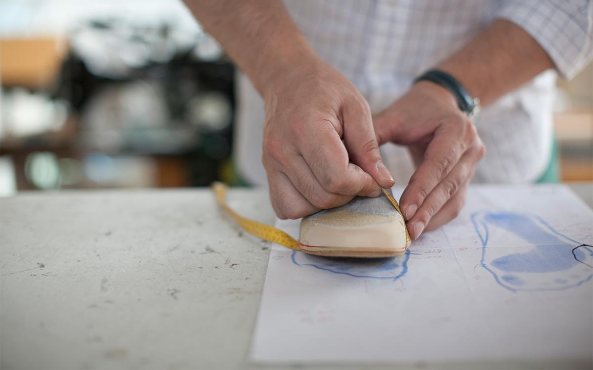 矯正靴の制作手順 木型