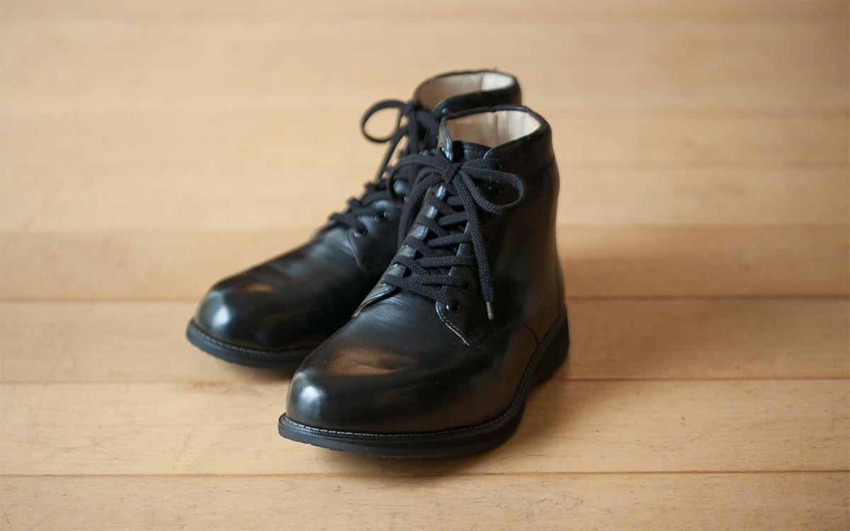 矯正靴の制作手順 完成