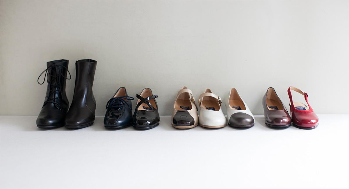 豊富なサイズ展開のレディースオーダーメイド靴