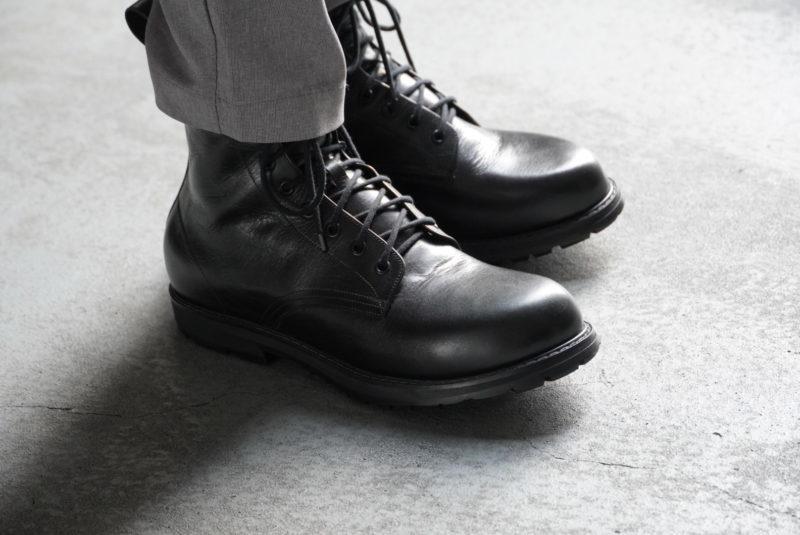 フルオーダー ブーツ 黒